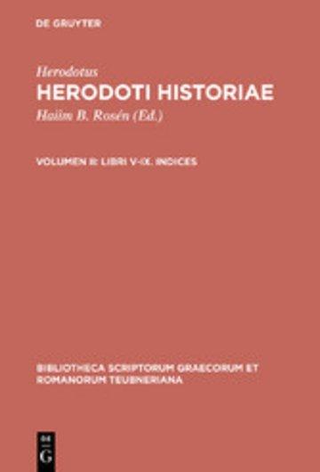 eBook Libri V-IX. Indices Cover