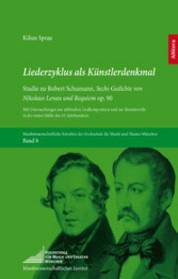 eBook Liederzyklus als Künstlerdenkmal Cover