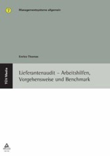 eBook Lieferantenaudit - Arbeitshilfen, Vorgehensweise und Benchmark (E-Book, PDF) Cover