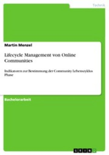 eBook Lifecycle Management von Online Communities Cover