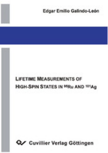 eBook Lifetime Measurements of High-Spin States in Ru and Ag Cover