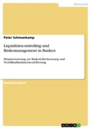 eBook Liquiditätscontrolling und Risikomanagement in Banken Cover