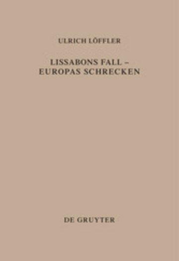eBook Lissabons Fall - Europas Schrecken Cover