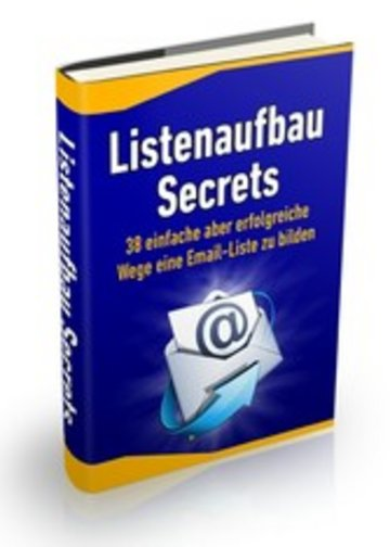 eBook Listenaufbau Secrets Cover