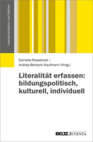 eBook Literalität erfassen: bildungspolitisch, kulturell, individuell Cover