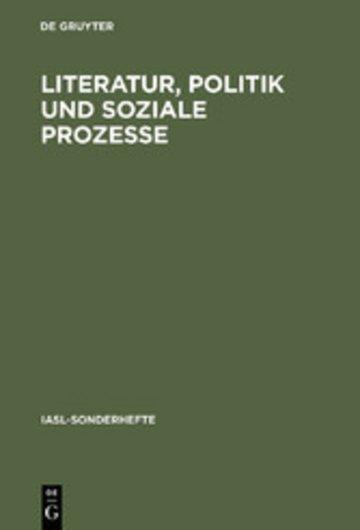 eBook Literatur, Politik und soziale Prozesse Cover