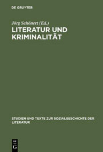 eBook Literatur und Kriminalität Cover