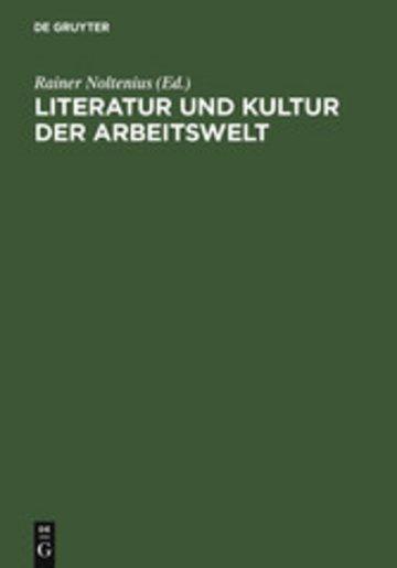 eBook Literatur und Kultur der Arbeitswelt Cover