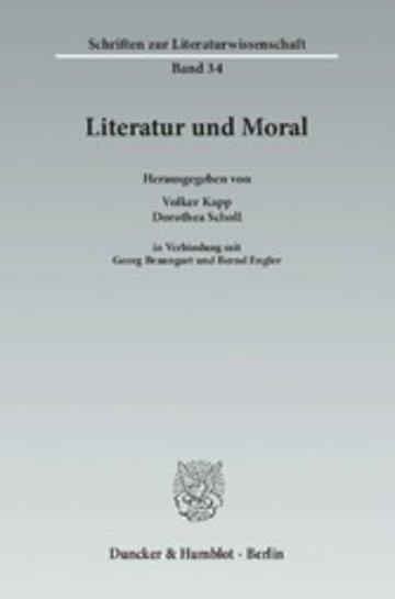 eBook Literatur und Moral. Cover