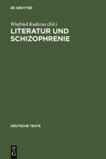 eBook Literatur und Schizophrenie Cover