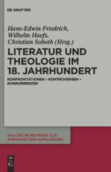 eBook Literatur und Theologie im 18. Jahrhundert Cover