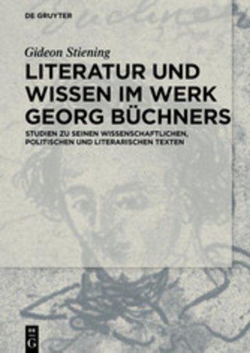 eBook Literatur und Wissen im Werk Georg Büchners Cover