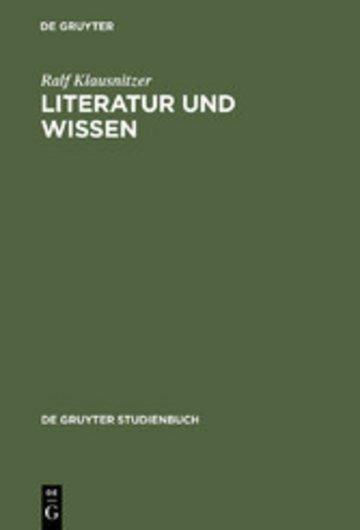 eBook Literatur und Wissen Cover
