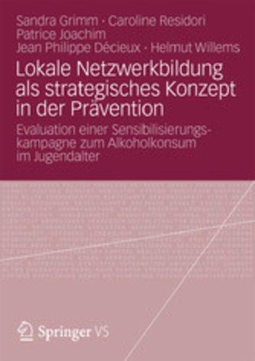 eBook Lokale Netzwerkbildung als strategisches Konzept in der Prävention Cover