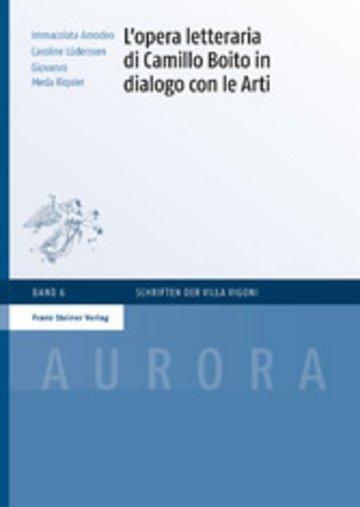 eBook L'opera letteraria di Camillo Boito in dialogo con le Arti Cover