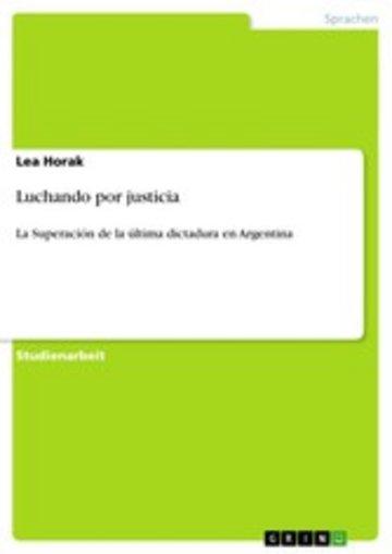 eBook Luchando por justicia Cover