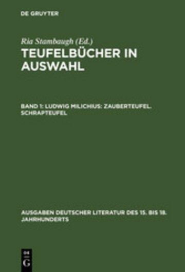 eBook Ludwig Milichius: Zauberteufel. Schrapteufel Cover