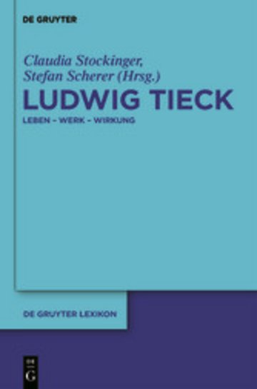 eBook Ludwig Tieck Cover