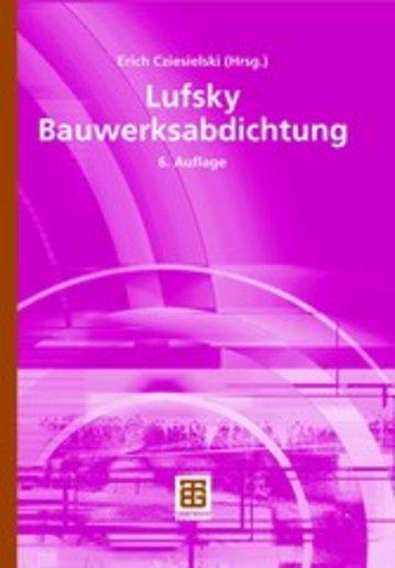eBook Lufsky Bauwerksabdichtung Cover