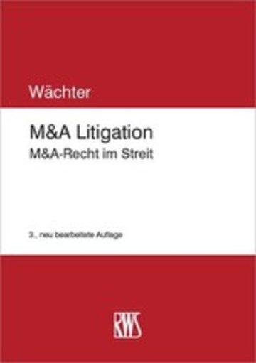 eBook M&A Litigation Cover