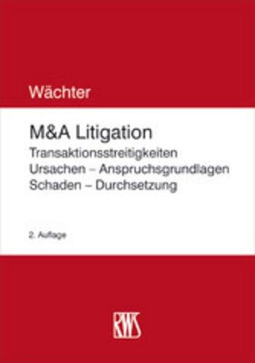 eBook M&A-Litigation Cover