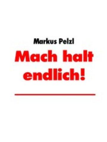 eBook Mach halt endlich! Cover