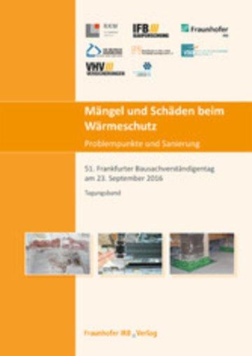 eBook Mängel und Schäden beim Wärmeschutz. Problempunkte und Sanierung. Cover