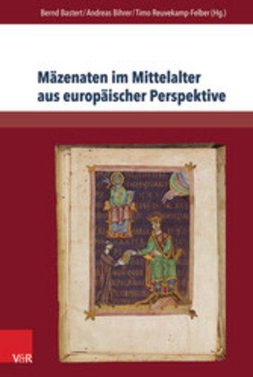 eBook Mäzenaten im Mittelalter aus europäischer Perspektive Cover