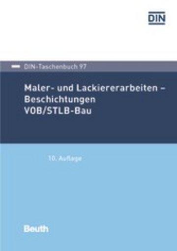 eBook Maler- und Lackiererarbeiten - Beschichtungen VOB/STLB-Bau Cover