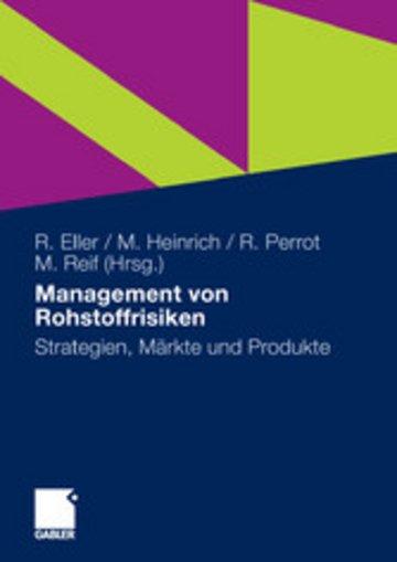 eBook Management von Rohstoffrisiken Cover