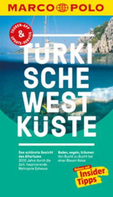 eBook MARCO POLO Reiseführer Türkische Westküste Cover