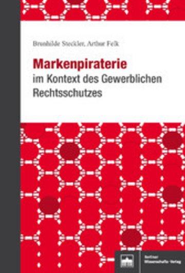 eBook Markenpiraterie im Kontext des Gewerblichen Rechtsschutzes Cover