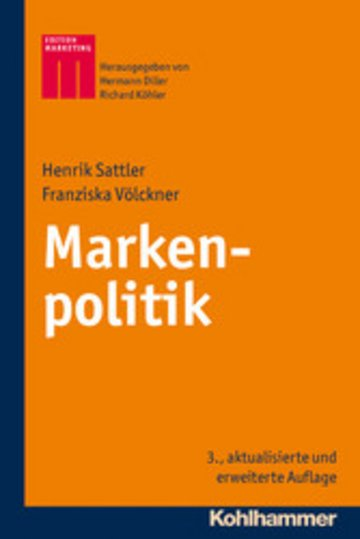 eBook Markenpolitik Cover
