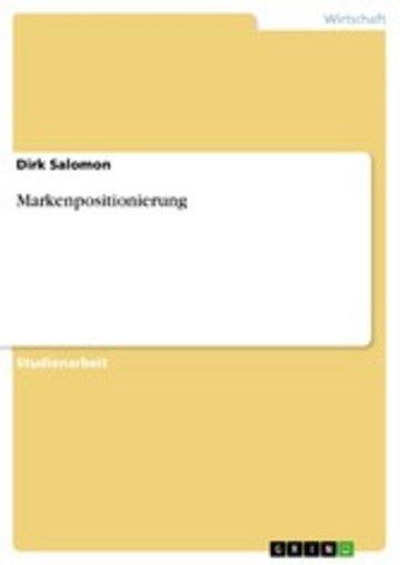 eBook Markenpositionierung Cover