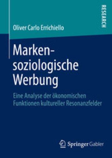 eBook Markensoziologische Werbung Cover