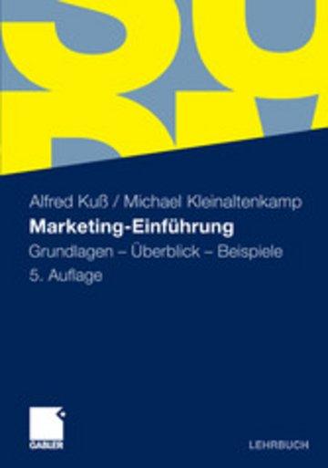 eBook Marketing-Einführung Cover