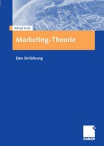 eBook Marketing-Theorie Cover