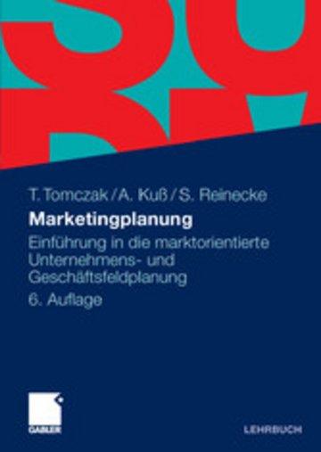 eBook Marketingplanung Cover