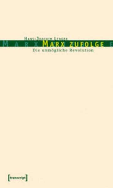 eBook Marx zufolge Cover
