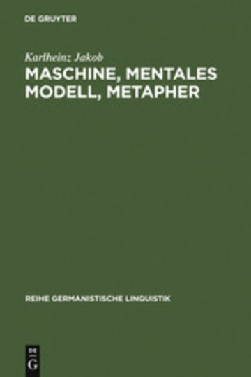 eBook Maschine, mentales Modell, Metapher Cover