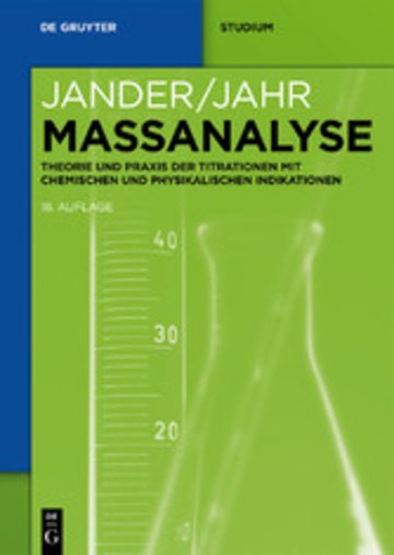eBook Maßanalyse Cover