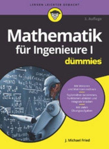 eBook Mathematik für Ingenieure I für Dummies Cover