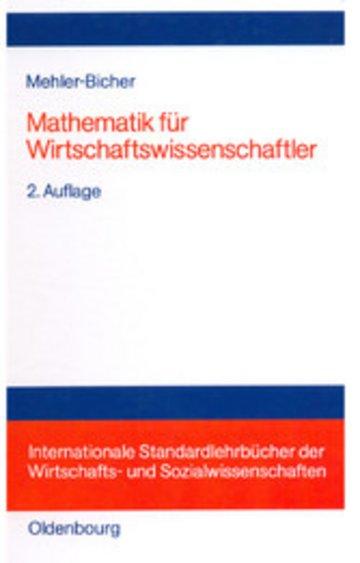 eBook Mathematik für Wirtschaftswissenschaftler Cover