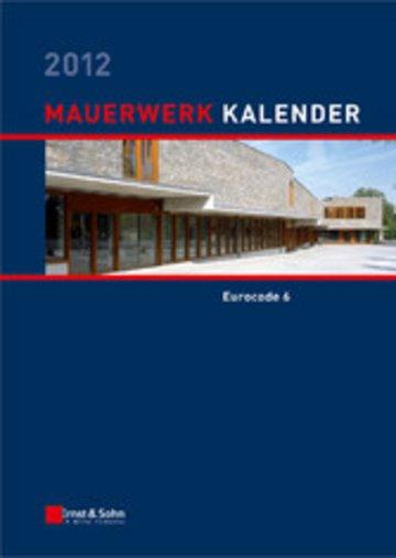 eBook Mauerwerk Kalender 2012 Cover