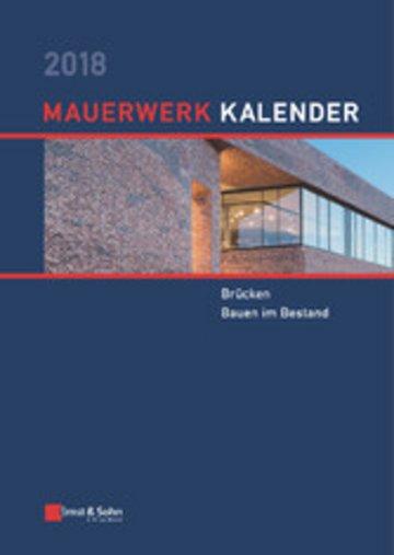 eBook Mauerwerk Kalender 2018 Cover