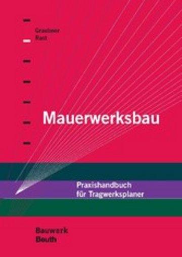 eBook Mauerwerksbau Cover