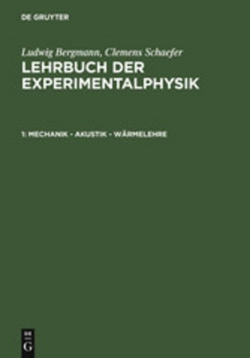 eBook Mechanik - Akustik - Wärmelehre Cover