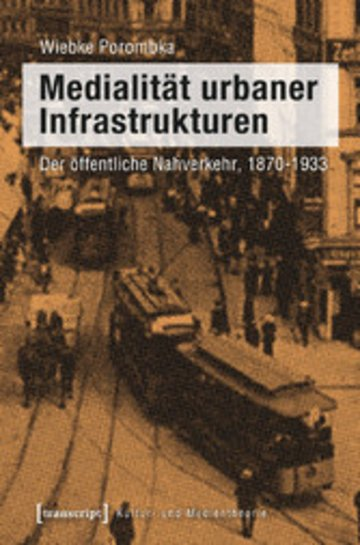 eBook Medialität urbaner Infrastrukturen Cover