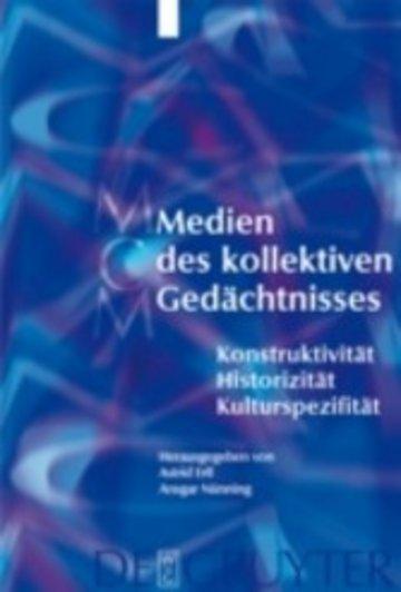 eBook Medien des kollektiven Gedächtnisses Cover