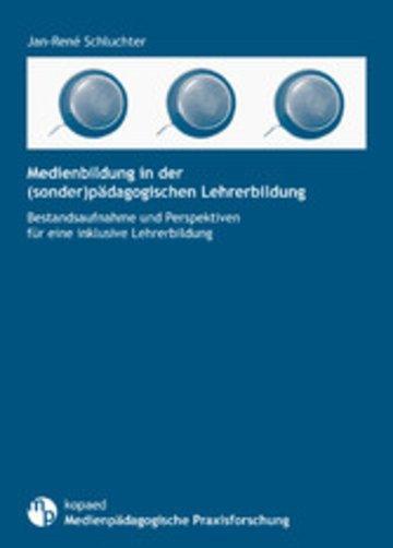 eBook Medienbildung in der (sonder)pädagogischen Lehrerbildung Cover